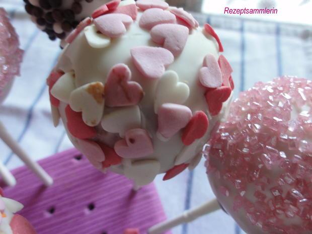 Biskuit:   CAKE ~ POPS (kleine Kuchen am Stiel) - Rezept - Bild Nr. 10382