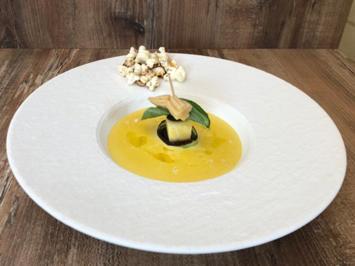 Lauch-Mais-Suppe mit Popcorn (Bastian Bielendorfer) - Rezept - Bild Nr. 2
