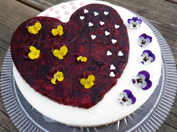 Muttertags-Herz-Torte  - kochbar Challenge 5.0 (Mai 2020) - Rezept - Bild Nr. 2