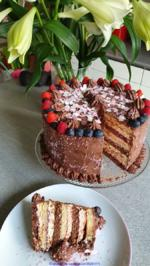 Muttertag`s Torte  = kochbar Challenge 5.0 (Mai 2020) - Rezept - Bild Nr. 2