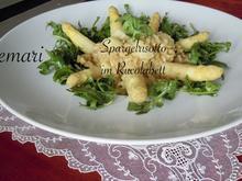 Spargel Risotto im Rucola Bett - Rezept - Bild Nr. 2