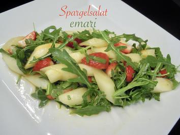 einfacher fruchtiger Spargel Salat - Rezept - Bild Nr. 2