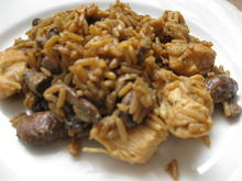 Putengulasch mit braunen Champignons - Rezept - Bild Nr. 2