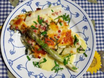 Spargel - Brokkoli - Auflauf - Rezept - Bild Nr. 2