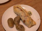 Steaks im Blätterteig mit Hasselback-Kartoffeln - Rezept - Bild Nr. 2
