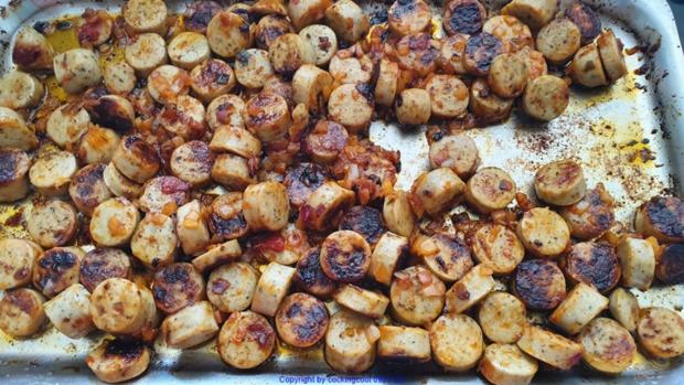 Kohl; Bohnen; Kartoffel und Grillwurst - Rezept - Bild Nr. 3