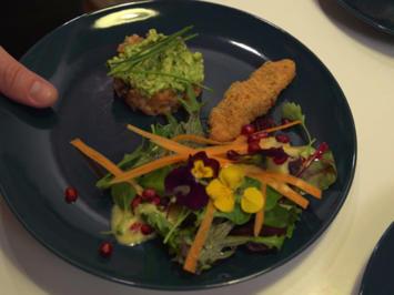 Variation vom Lachs an Salat - Rezept - Bild Nr. 2