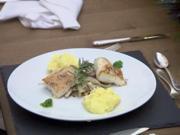 Loins vom Kabeljau mit geschmortem Fenchel und Kartoffelstampf - Rezept - Bild Nr. 2