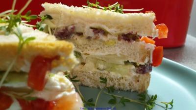 "Homeoffice Sandwich ""Oecher Art"" - Rezept - Bild Nr. 10397"