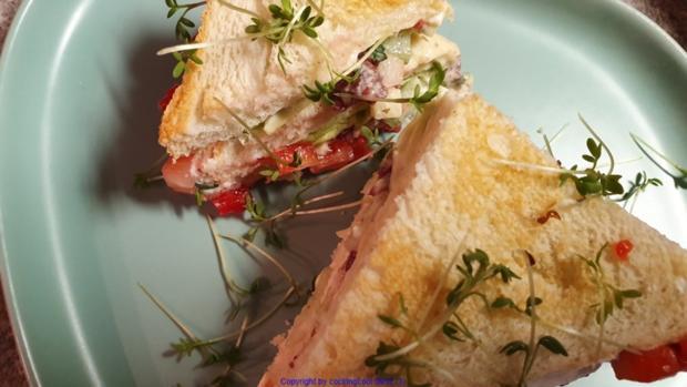 "Homeoffice Sandwich ""Oecher Art"" - Rezept - Bild Nr. 10396"