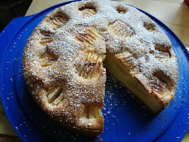 Apfelkuchen, versunken - Rezept - Bild Nr. 2