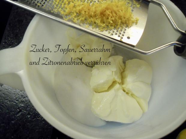Topfen - Erdbeer - Schnitten - Rezept - Bild Nr. 6