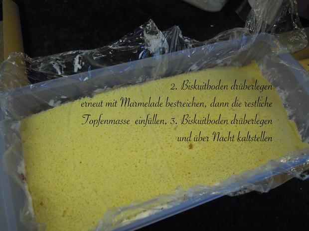 Topfen - Erdbeer - Schnitten - Rezept - Bild Nr. 10419