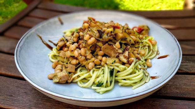 Mediterrane  Spaghetti - Rezept - Bild Nr. 20