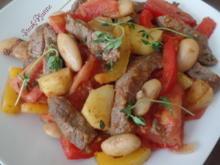Gemüse-Steak-Pfanne - Rezept - Bild Nr. 10415
