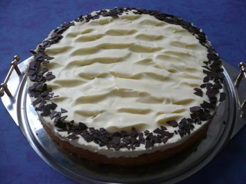 Rezept: Rhabarber-Creme - Kuchen