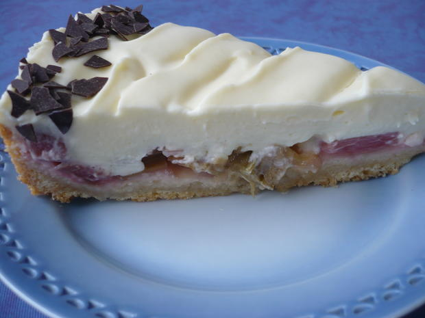 Rhabarber-Creme - Kuchen - Rezept - Bild Nr. 14