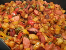 Bratkartoffel-Cabanossi-Pfanne - Rezept - Bild Nr. 2