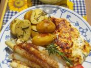Hähnchenfilets mit Spargel und Rosmarin-Kartoffeln - Rezept - Bild Nr. 2
