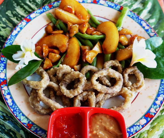 Frittierte Tintenfisch-Ringe - Rezept - Bild Nr. 2