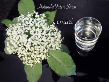 Rezept: Holunderblüten Sirup