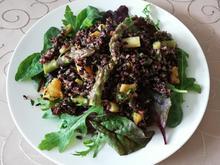 Reissalat mit grünen Spargel - Rezept - Bild Nr. 6