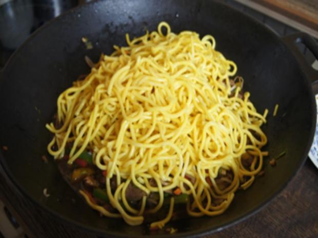 Rindfleischstreifen mit Gemüsemix und Mie-Nudeln - Rezept - Bild Nr. 23