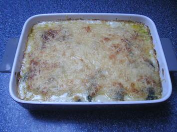 Kartoffel-Spinat-Auflauf - Rezept - Bild Nr. 2