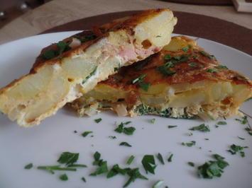 Kartoffel-Tortilla mit Bacon - Rezept - Bild Nr. 10456