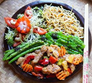 Rindfleischstreifen in süß-saurer Sauce ala Siti Karina - Rezept - Bild Nr. 2