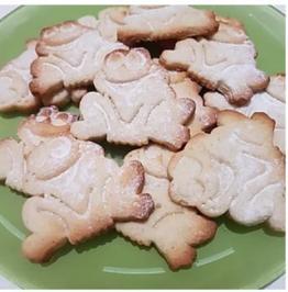 Rezept: Mürbeteig-Kekse / Plätzchen