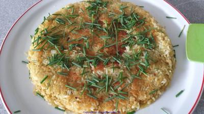 Pikanter Krosser Reisfladen als Beilage - Rezept - Bild Nr. 2