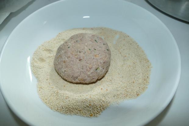 Fleischküchle mit frischem Brät - Rezept - Bild Nr. 8