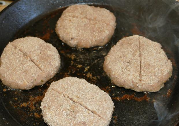 Fleischküchle mit frischem Brät - Rezept - Bild Nr. 9