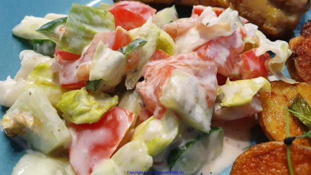Spare Ribs - Salat- Röstkartoffel - Rezept - Bild Nr. 6