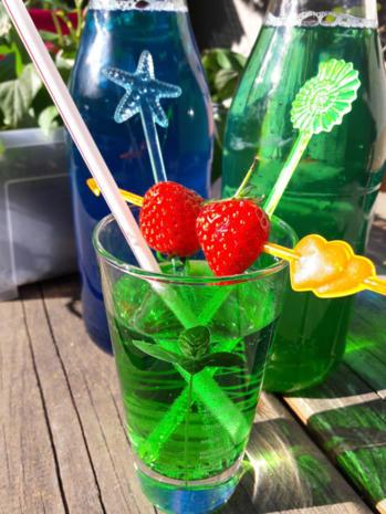 Grüne und Blaue Limo - Rezept - Bild Nr. 10471