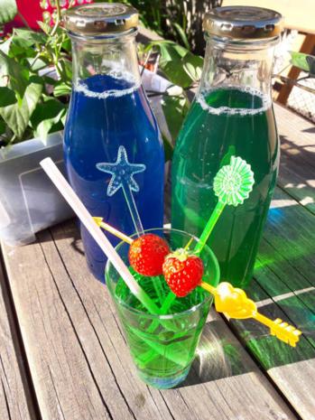 Grüne und Blaue Limo - Rezept - Bild Nr. 10476