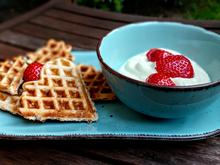 Waffeln mit Joghurt - Rezept - Bild Nr. 2