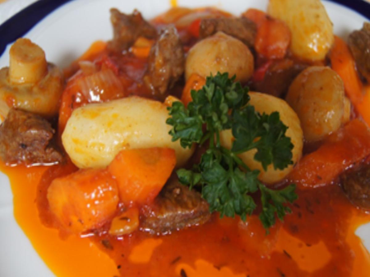 Rindfleisch Tajine mit Gemüse