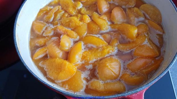 Aprikosencreme (Marillencreme) könnte man auch Fruchtaufstrich nennen - Rezept - Bild Nr. 8