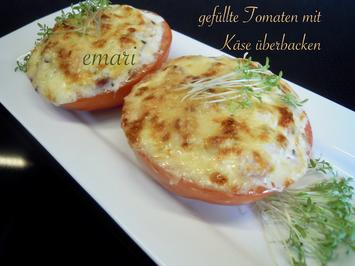 Gefüllte Tomate mit Käse überbacken - Rezept - Bild Nr. 10471