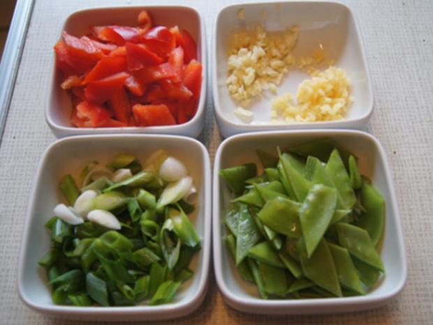 Seelachsfilet in Tomatensauce mit Basmatireis - Rezept - Bild Nr. 7