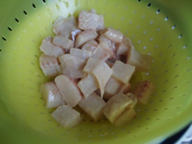 Seelachsfilet in Tomatensauce mit Basmatireis - Rezept - Bild Nr. 10