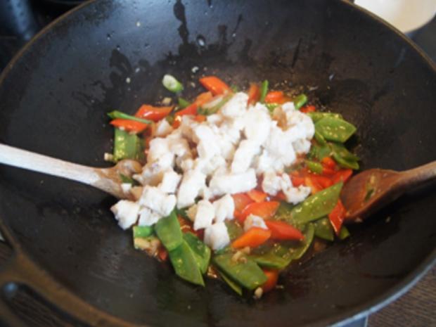 Seelachsfilet in Tomatensauce mit Basmatireis - Rezept - Bild Nr. 17