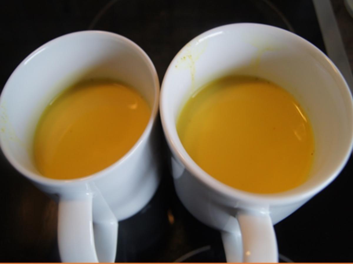 Goldene Milch Zutaten