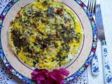 Zucchini-Omelette - Frittata con le zucchine - Rezept - Bild Nr. 2