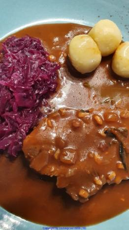 Hirschbraten = Heute à la Biggi - Rezept - Bild Nr. 12