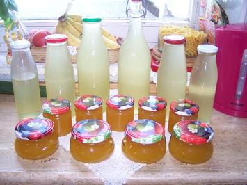 Holunderblüten-Gelee mit Orangen + Zitronen - Rezept - Bild Nr. 2