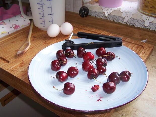 Kirschen Nachtisch - Rezept - Bild Nr. 3