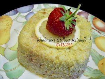 Rhabarber Erdbeer Reisauflauf - Rezept - Bild Nr. 2